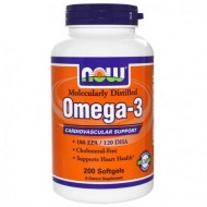 Omega-3 180 EPA / 120 DHA 200 капс