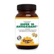 Super 10 Antioxidant 30 таб