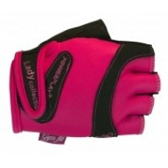 Перчатки для фитнеса 1729 Lady розовые женские