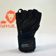 Перчатки для фитнеса 1063 E черные мужские