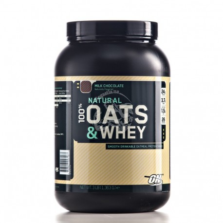 100% Natural Oats & Whey 1.36 кг