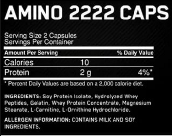 Superior Amino 2222 Caps 150